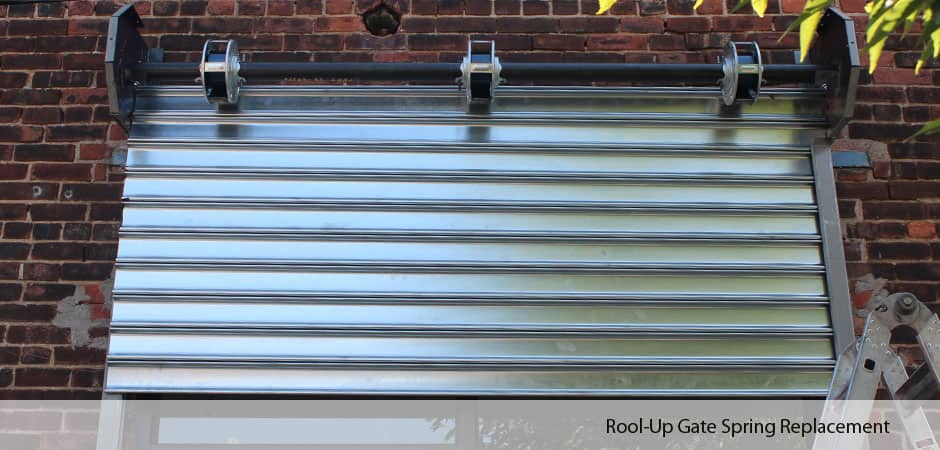 Rool-Up-Gate-Spring-Replacement