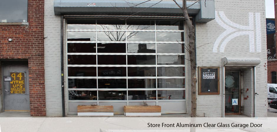 Store-Front-Aluminum-Clear-Glass-Garage-Door