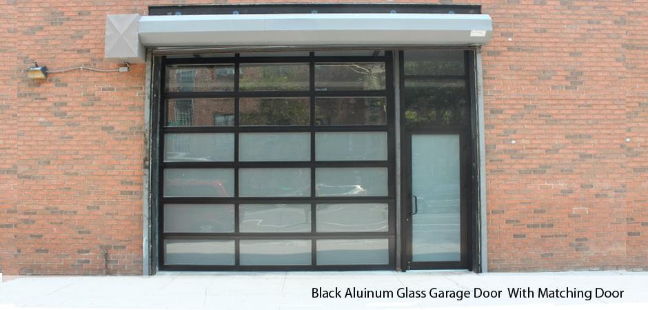 Commercial glass garage doors Oil Rubbed Bronze Withmatchingdoor Lorikennedyco Aluminum Glass Garage Doors In Nyc New York Gates