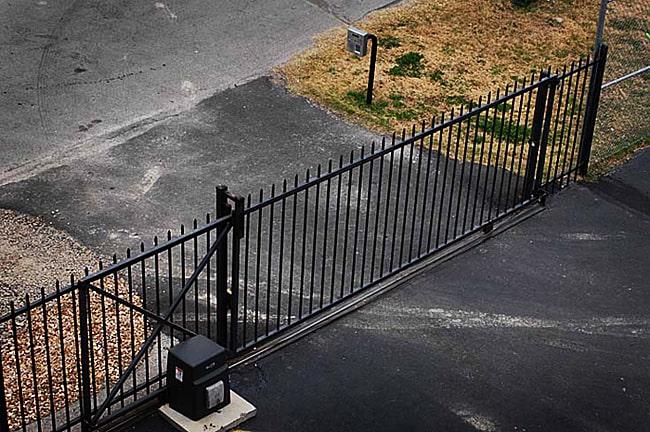 Parking lot gate