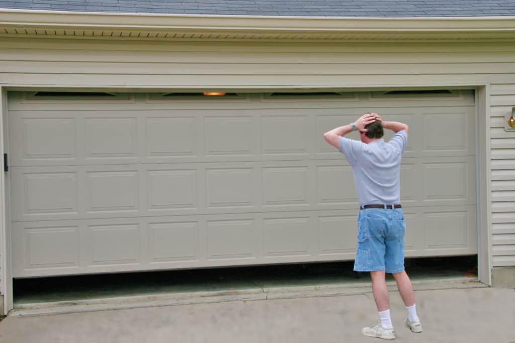 garage door opening